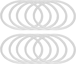 LQXZJ-DIY-handwerk, 20 Stks Cirkels, Kant Zelfgemaakte Dromenvanger Ring Plastic Hoepel, DIY Ambachtelijke Dromenvanger Sp...