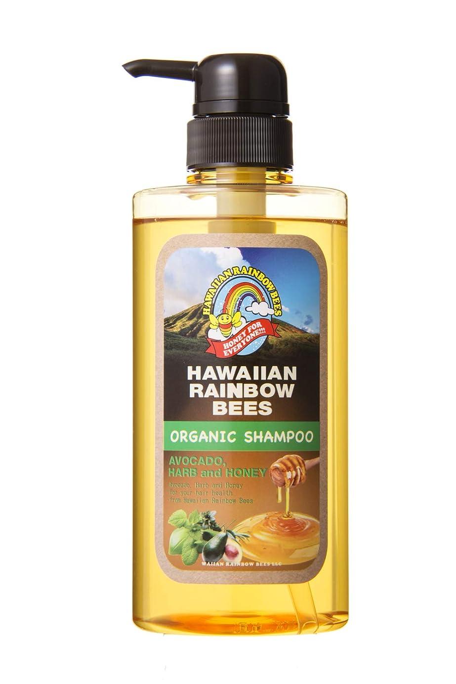 魅了するやさしいエンコミウムハワイアンレインボービーズ オーガニックスカルプケア シャンプー AH 500ml 72123001