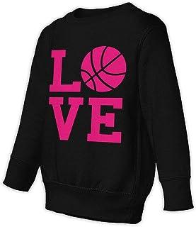 Love Basketball ラブ バスケット 子供服 春秋 長袖 Tシャツ トレーナー 丸い襟 キッズ 男の子 女の子 ベビー おしゃれ カジュアル ファッション 可愛い