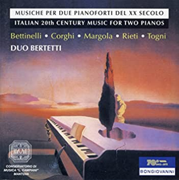Italian 20th Century Music for 2 Pianos