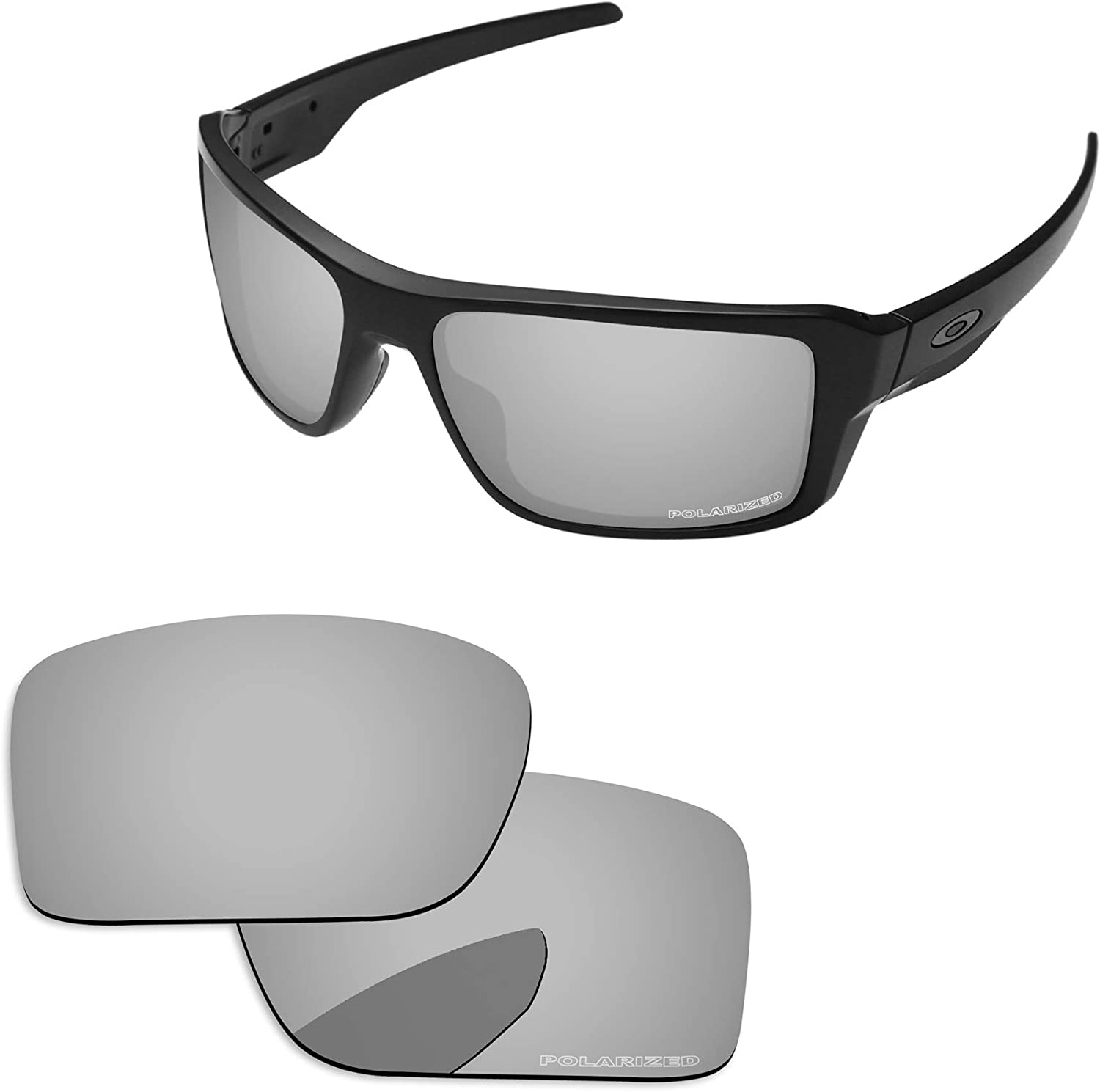 PapaViva Lenses Replacement Max 41% OFF for OO9380 Edge Cheap mail order specialty store Double Oakley