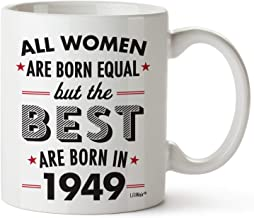 70th Birthday Gifts For Women Seventy Years Old Gift Mugs Happy Funny 70 Womens Womans Wifes Female Best Friend 1949 Mug Unique Ideas 49 Woman Wife Gag Dad Cute Girls Good Husband