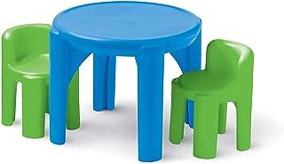 Littlе Tikеs ホームデコ 明るい 'n Bold テーブル&椅子 グリーン
