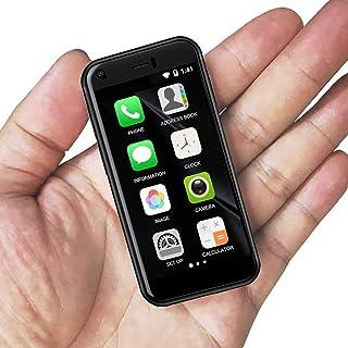 Ytwtech Mini Smartphone, 3G Dual SIM 2.4 Pulgadas Teléfono móvil 1G+8G 5.0MP Alta Definición Teléfono infantil Desbloquead...