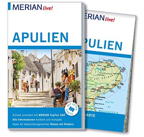 MERIAN live! Reiseführer Apulien: Mit Extra-Karte zum Herausnehmen