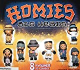 Homies Big Heads Figure Set of 8 with new Funny Big Heads featuring Big Loco, Eightball, Smiley and Many More!