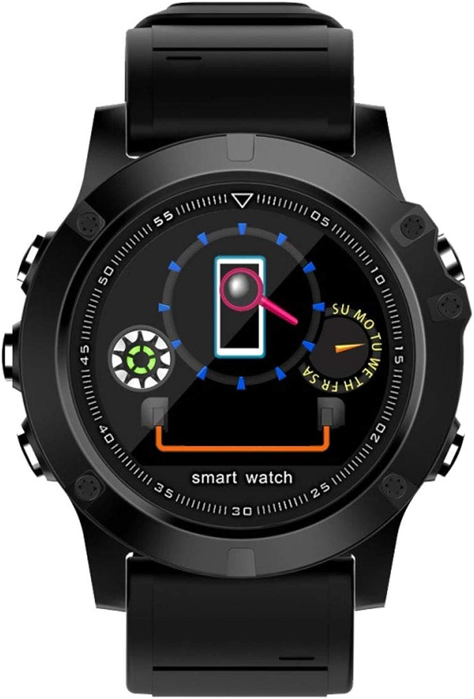 UMGZY Fitness-Tracker Smart Watch IP68 Wasserdichte GPS-Herzfrequenz-überwachung Multi-Sport-Modus für Android IOS Unisex-Uhr