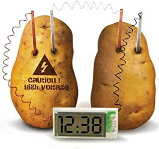 Kasstino Potato Clock Novel Green Science Project Experiment Kit Kids Lab Home School Toy