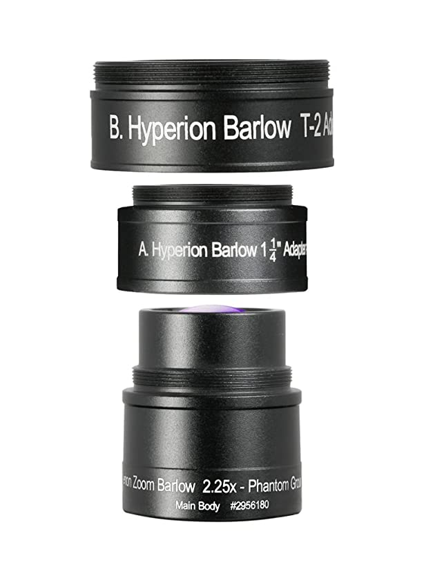 Baader Planetarium 2.25x Zoom Barlow Lens