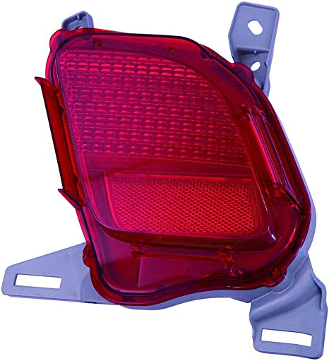 For 2011 2012 2013 TOYOTA HIGHLANDER Reflector Passenger Side CarLights360 Replacement for TO2831106 CAPA Certified