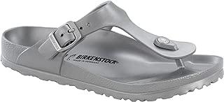 Birkenstock Women's Gizeh EVA Sandals (38 M EU, Metallic Silver)