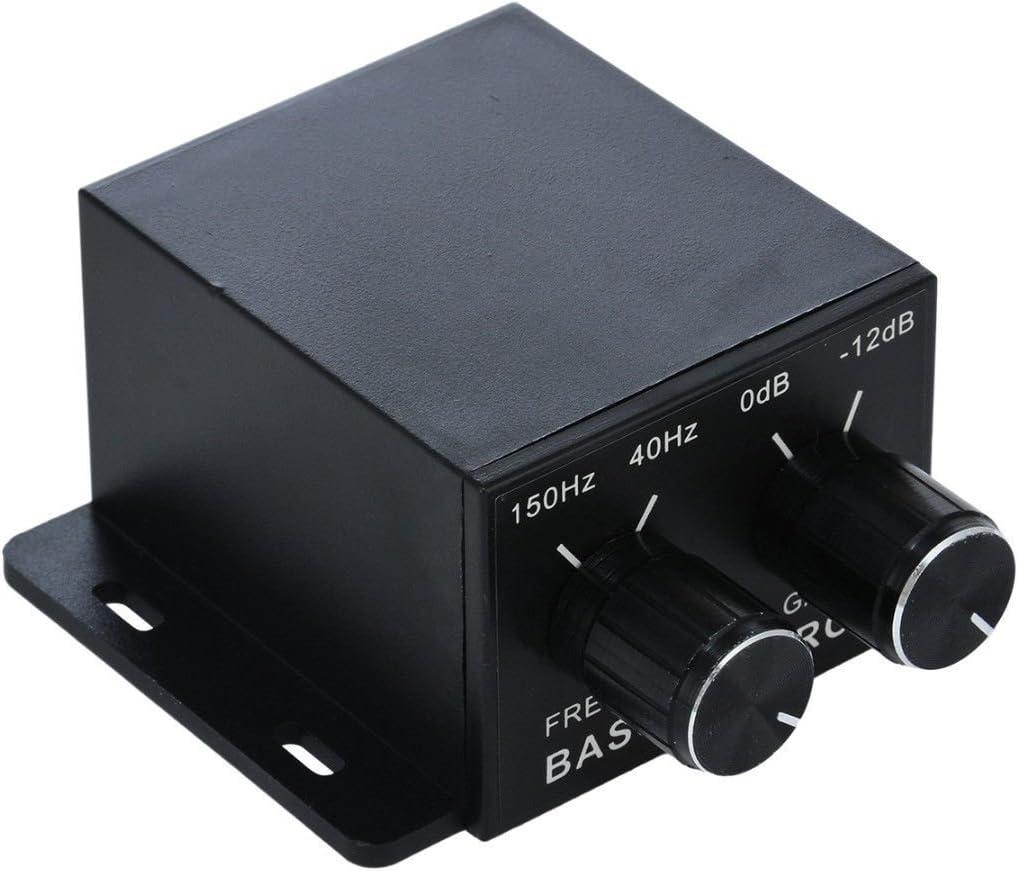 Nobsound Auto Car Amplifier Audio Subwoofer Control Bass Low price Max 44% OFF Su Knob