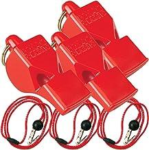 Fox 40 Classic w/Breakaway Lanyard 3 Pack (Red)