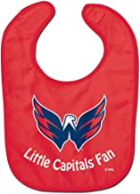 WinCraft NHL Washington Capitals WCRA2064314 All Pro Baby Bib