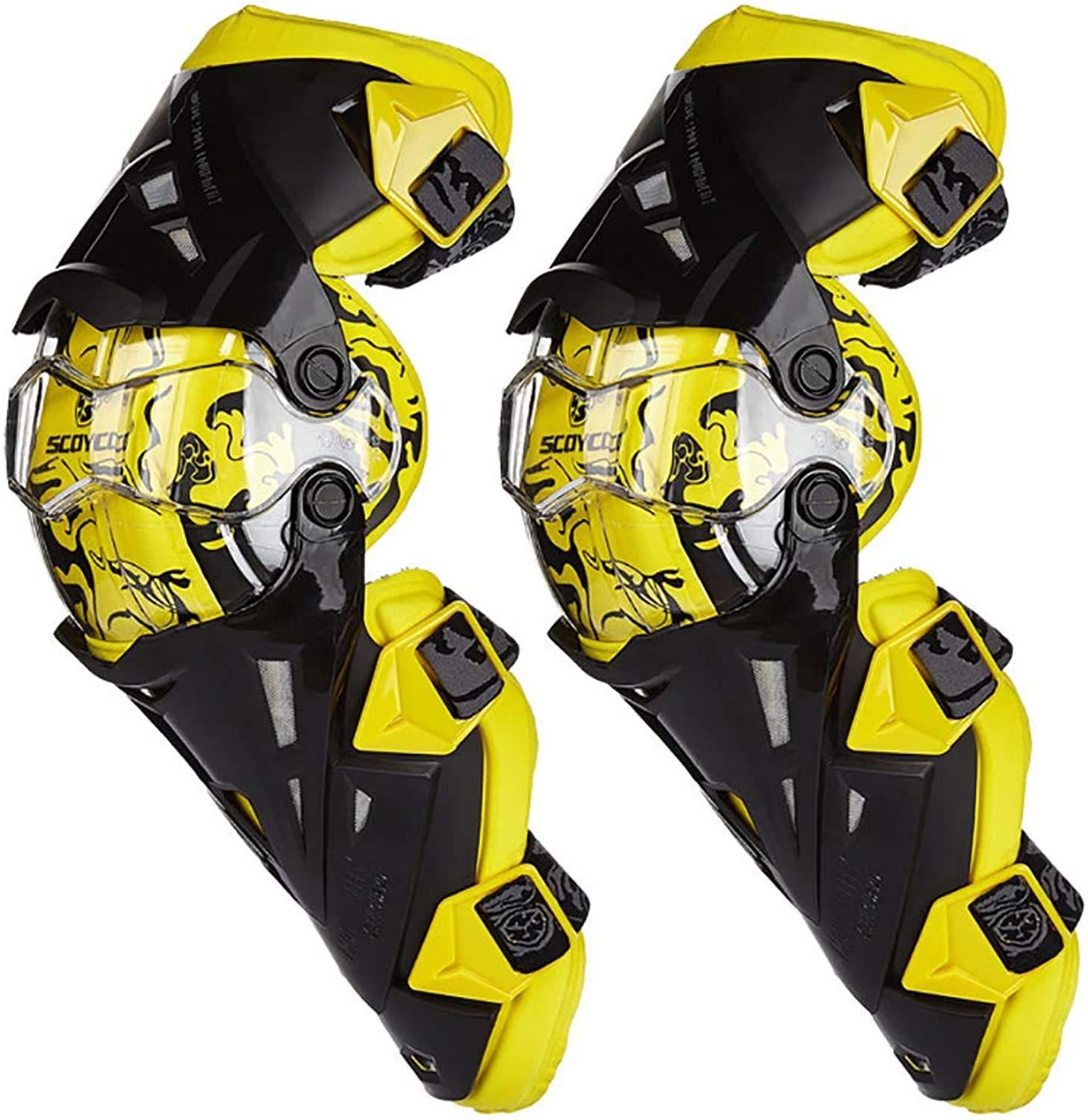 Kneepad Off-Road Racing Motorcycle Knee Pads Anti-Fall Warm and Breathable Leggings Predective Gear Sporting Goods