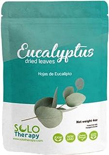 Certified Organic Eucalyptus Dried Cut Leaves, 4 oz , Hojas De Eucalipto Orgánicas , Eucalyptus Herbal Tea 4oz , Product F...