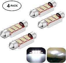 REFURBISHHOUSE 2 x 42mm Feston Ampoule navette CW5 8 eclairage interieur a LED blanche Lumiere Lampe Ampoule 12V de voiture