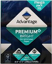 Advantage Ink Jet & Laser Mega Pack 8.5x11in 800 Sheets