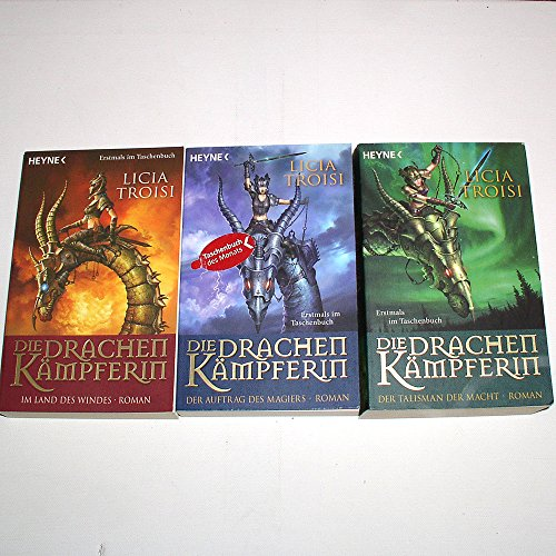 Die Drachenkämpferin 1-3 komplett Trilogie (Im Land des Windes - Der Auftrag des Magiers - Der Talisman der Macht)