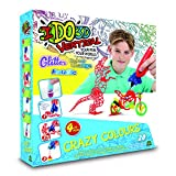 I DO 3D - Vertical Set 4 boligrafos Crazy Colors (Giochi Preziosi D3D19000)