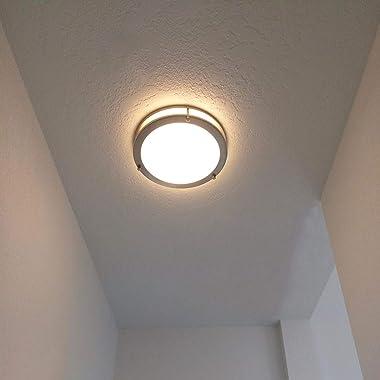 Drosbey 36W LED Ceiling Light Fixture, 13in Flush Mount Light Fixture, Ceiling Lamp for Bedroom, Kitchen, Bathroom, Hallway,