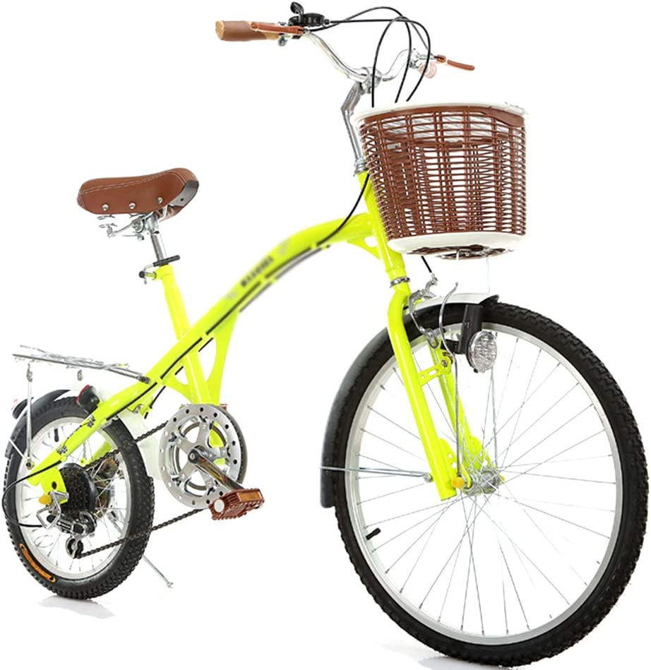 HAGUOHE City Bike Variable Speed 24 Road Portable Bikes Virginia Beach Mall Quantity limited Bicycle