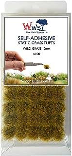 War World Scenics 10mm Self-Adhesive Static Grass Tufts x 100 –Wild Grass