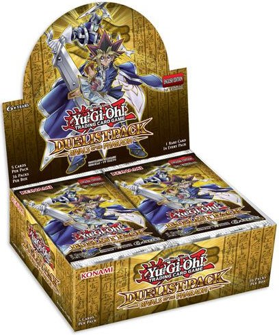 YU-GI-OH! YGO-DPRP-DE - Duelist Pack: Rivals of The Pharaoh - Booster Display 36 Packs - Deutsch