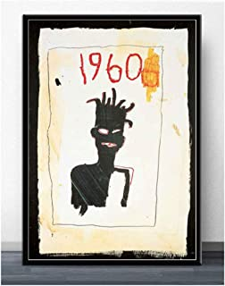 JEAN MICHAEL BASQUIAT MONA LISA Stampa su Tela Canvas 100/% QUALITà ITALIA