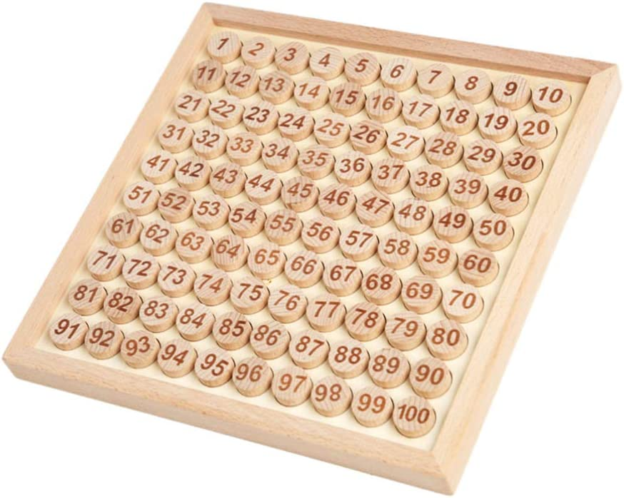 Toyvian Wooden Sudoku Board Game sold out Gam sold out Table Numbers Puzzle