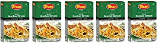 Shan Premium Special Bombay Biryani Masala Recipe And Seasoning Mix, Indian Food Spices, 2.1oz/60g (Pack of 5)