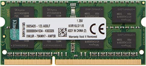 Memória Notebook DDR3L - 8GB / 1.600MHz - Kingston ValueRAM
