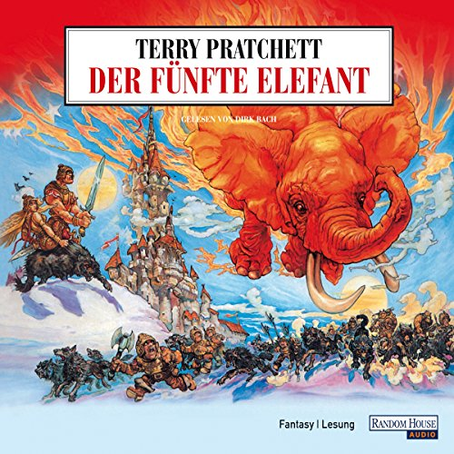 Der fünfte Elefant                    By:                                                                                                                                 Terry Pratchett                               Narrated by:                                                                                                                                 Dirk Bach                      Length: 3 hrs and 49 mins     Not rated yet     Overall 0.0