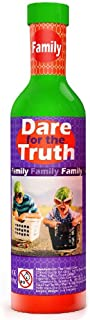 The Purple Cow Dare for Truth Family - Spin The Bottle Game, Family Edition. Card Game for Families Ages 6 & Up. The Perfect Family Party Game Fun for All!