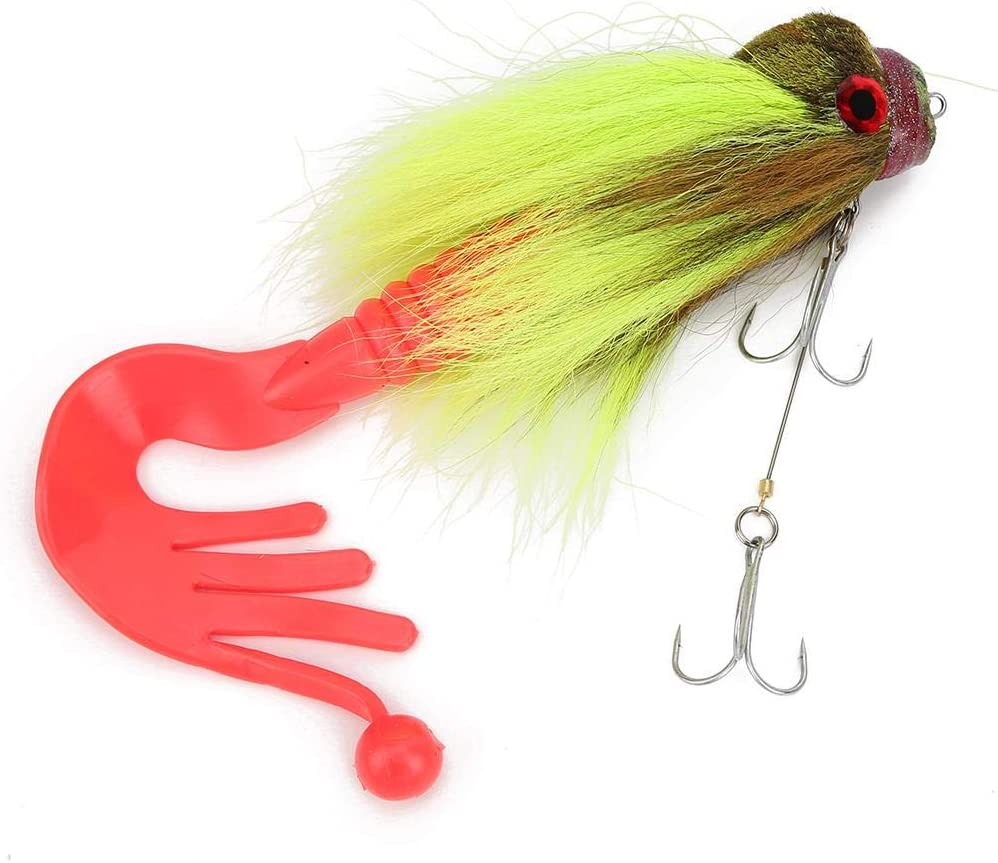 Keenso Max 40% OFF Large Fishing New popularity Bait 3 Resin Colors Sea Lure