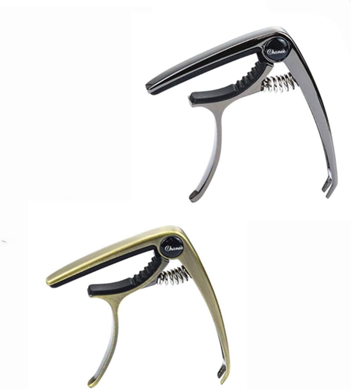Zinc Alloy Max 44% OFF Special price for a limited time Guitar Capo 2 Pack 6-String Acoustic for Electric and