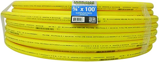 Underground IPS Yellow Poly Gas Pipe (3/4, 100)