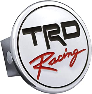 Toyota TRD Racing Chrome Metal Tow Hitch Cover, Official Licensed