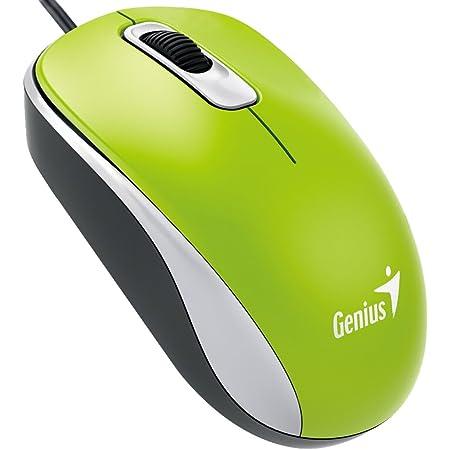 Genius 31010116105 DX-110 - Ratón, Verde