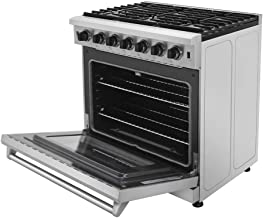 Thor Kitchen 36 inch Freestanding Pro-Style Professional Gas Range