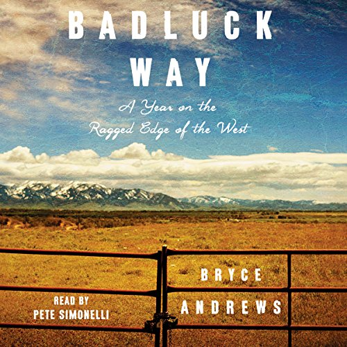 Badluck Way audiobook cover art