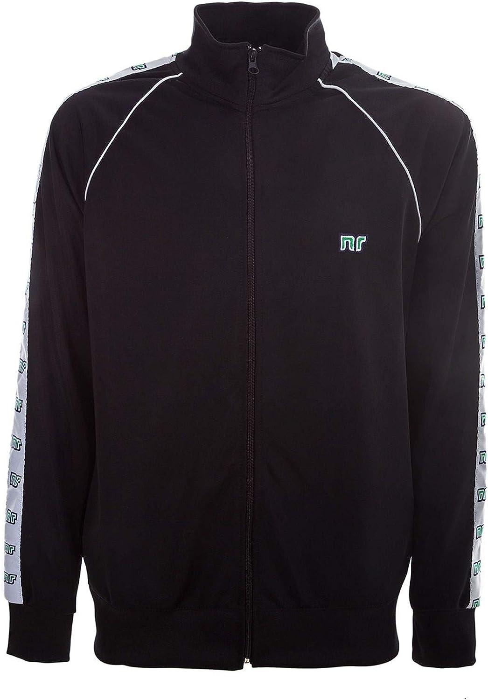 NR ENNERRE BY NICOLA RACCUGLIA Men's NRB81BLACK Black Polyester Sweatshirt