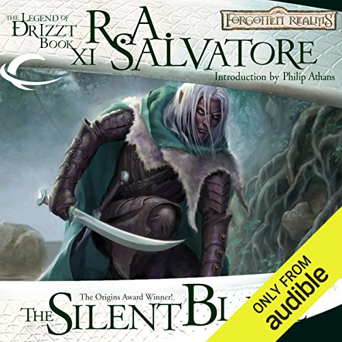 The Silent Blade     Legend of Drizzt: Paths of Darkness, Book 1               By:                                                                                                                                 R. A. Salvatore                               Narrated by:                                                                                                                                 Victor Bevine                      Length: 12 hrs and 48 mins     81 ratings     Overall 4.6