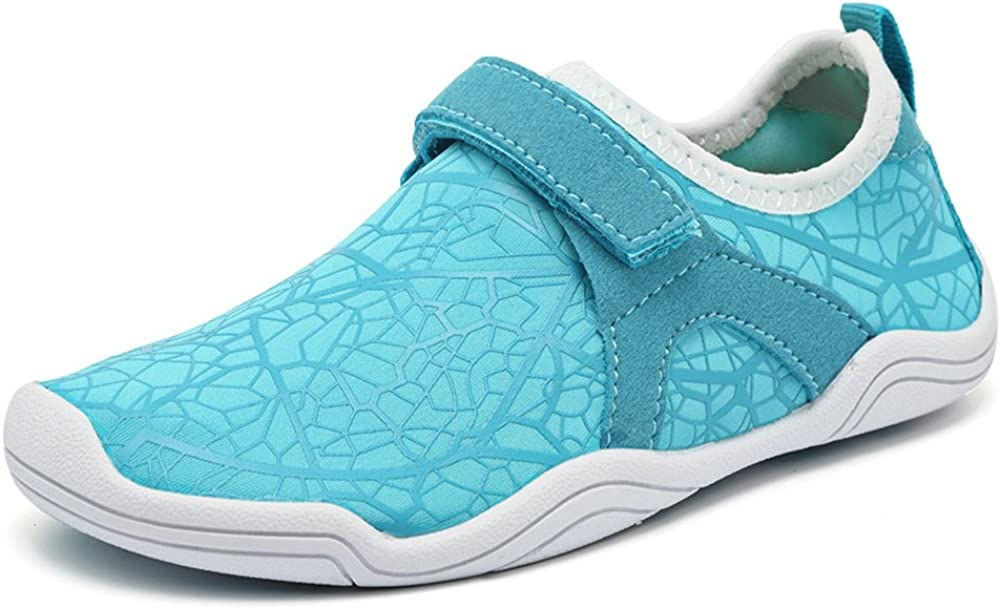 CIOR Boys & Girls Water Shoes Quick Drying Sports Aqua Athletic Sneakers Lightweight Sport Shoes(Toddler/Little Kid/Big Kid) DKSX-w.blue-29