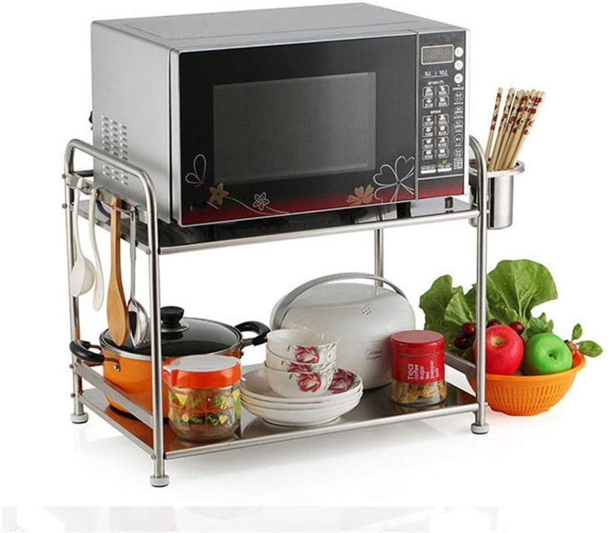 WHEEJE Microwave Oven Today's only Kitchen Counter Mic Max 61% OFF Steel Stainless Holder