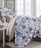 Noble Excellence Villa Belaire Full/Queen 3 Piece Comforter Set Floral Multi