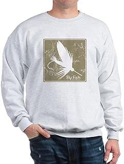 CafePress Fly Fishing Lure Sweatshirt Sweatshirt