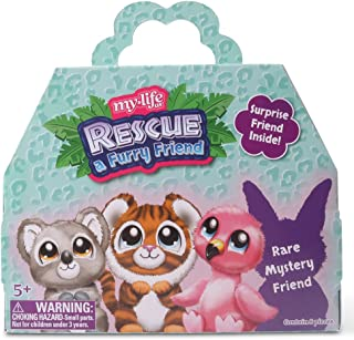 """Rescue a Furry Friend Surprise Bundle - Rare Mystery Pet for Your 18"""" Doll ~ Help Your Doll Tend to Her New Animal"""