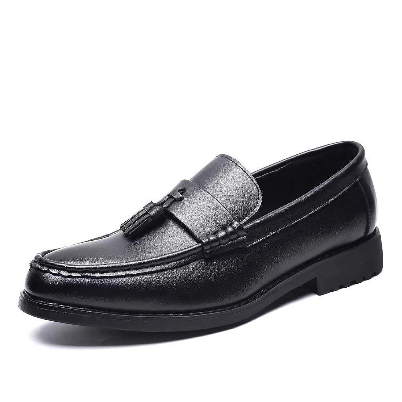 [Ainiso] ビジネスシューズ メンズ ローファー 紳士靴 革靴 スリッポンシューズ ドライビングシューズ 通気 防滑24-27