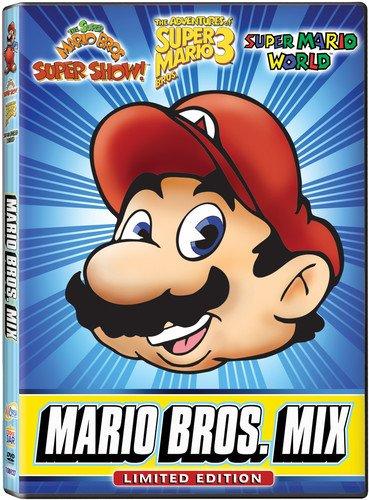 Super Mario Bros: Mega Mario Mix [DVD] [Region 1] [NTSC] [US Import]